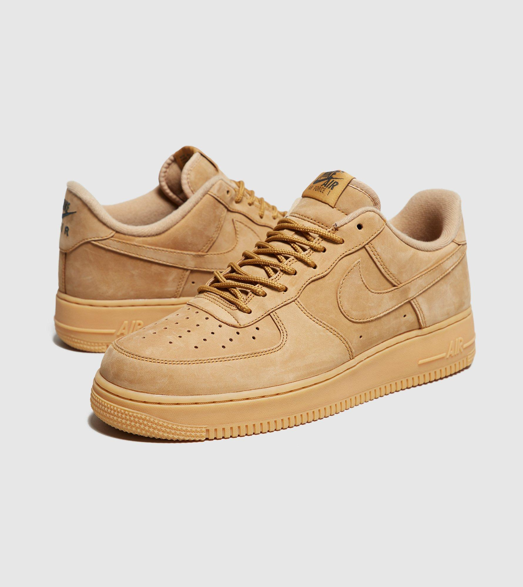 low priced c8914 8bd6f Nike Brown Air Force 1 Lv8 Wb Flax for men