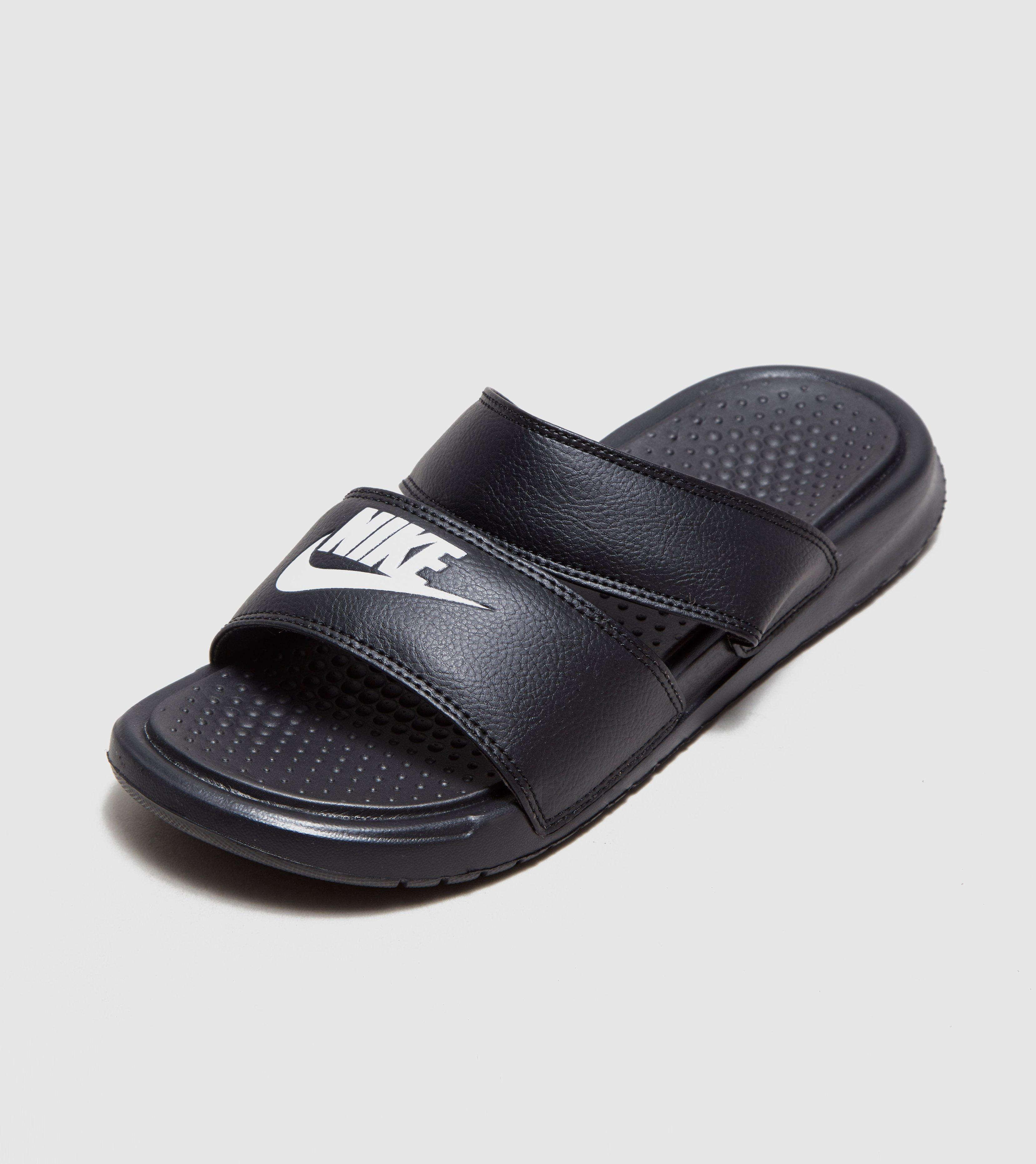 b88c7105b Lyst - Nike Benassi Duo Ultra Slides Women s in Black for Men