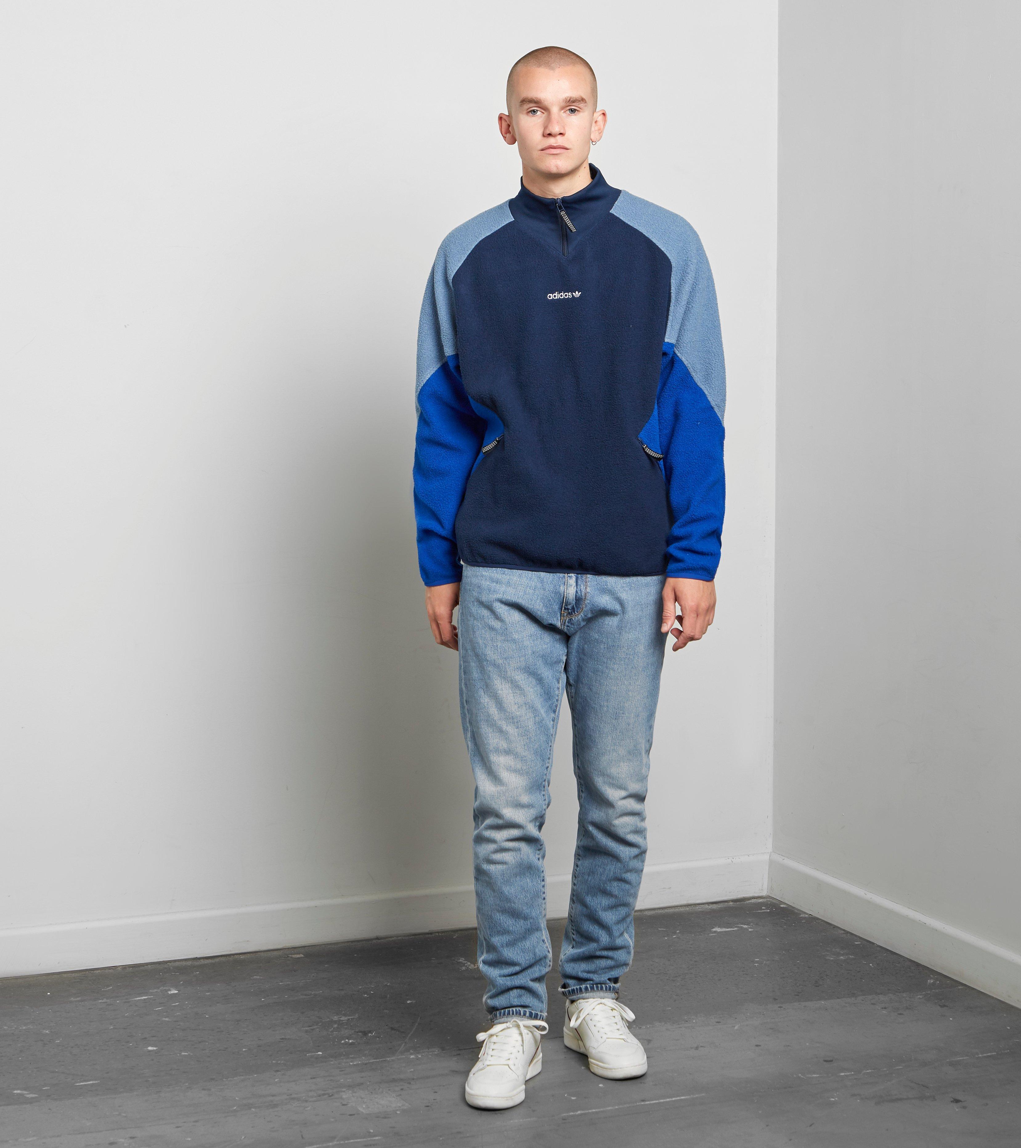 Originals men Adidas Eqt for Polar Fleece Jacket Blue K1cT3lFJ