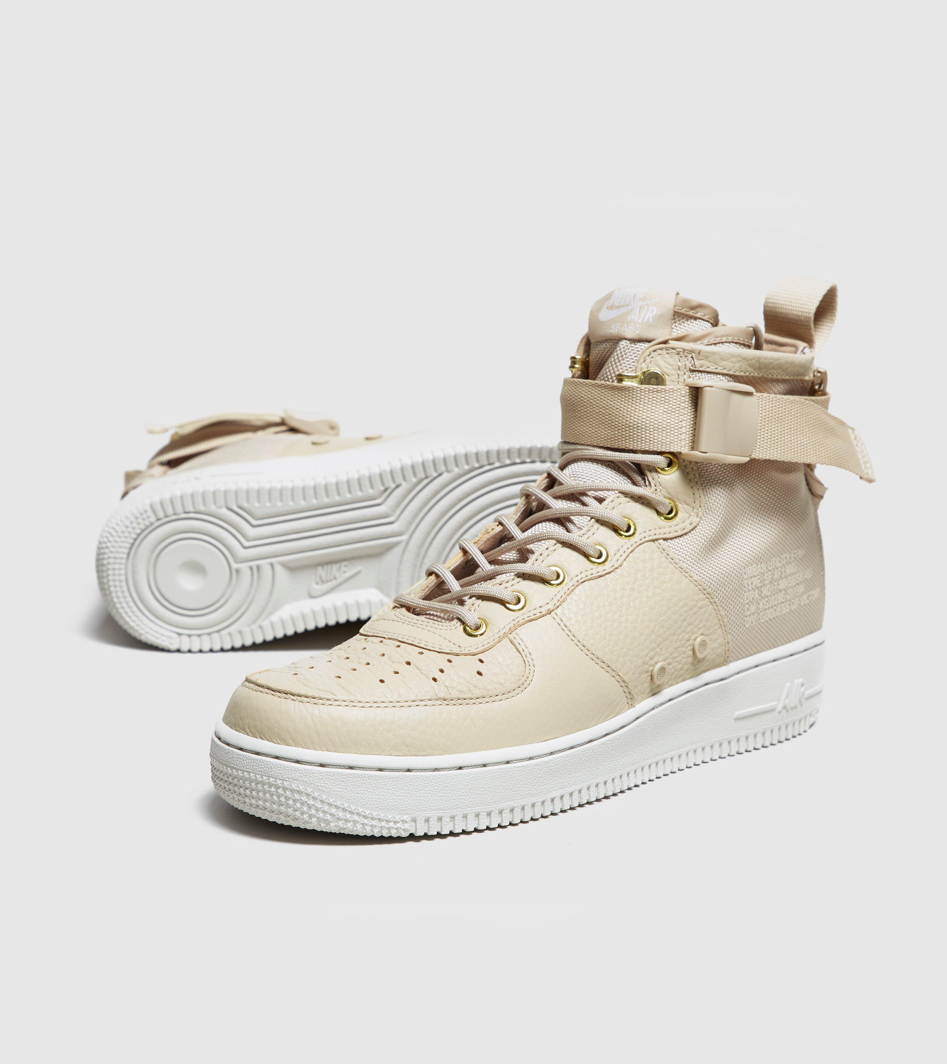 on sale 62574 00869 Nike Sf Air Force 1 Mid in Natural for Men - Lyst