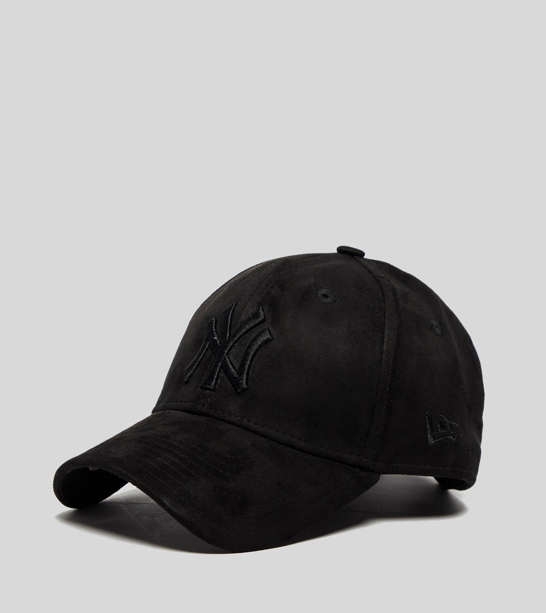 2c280576 ... uk lyst ktz 9forty new york yankees suede cap in black for men f4504  438d6