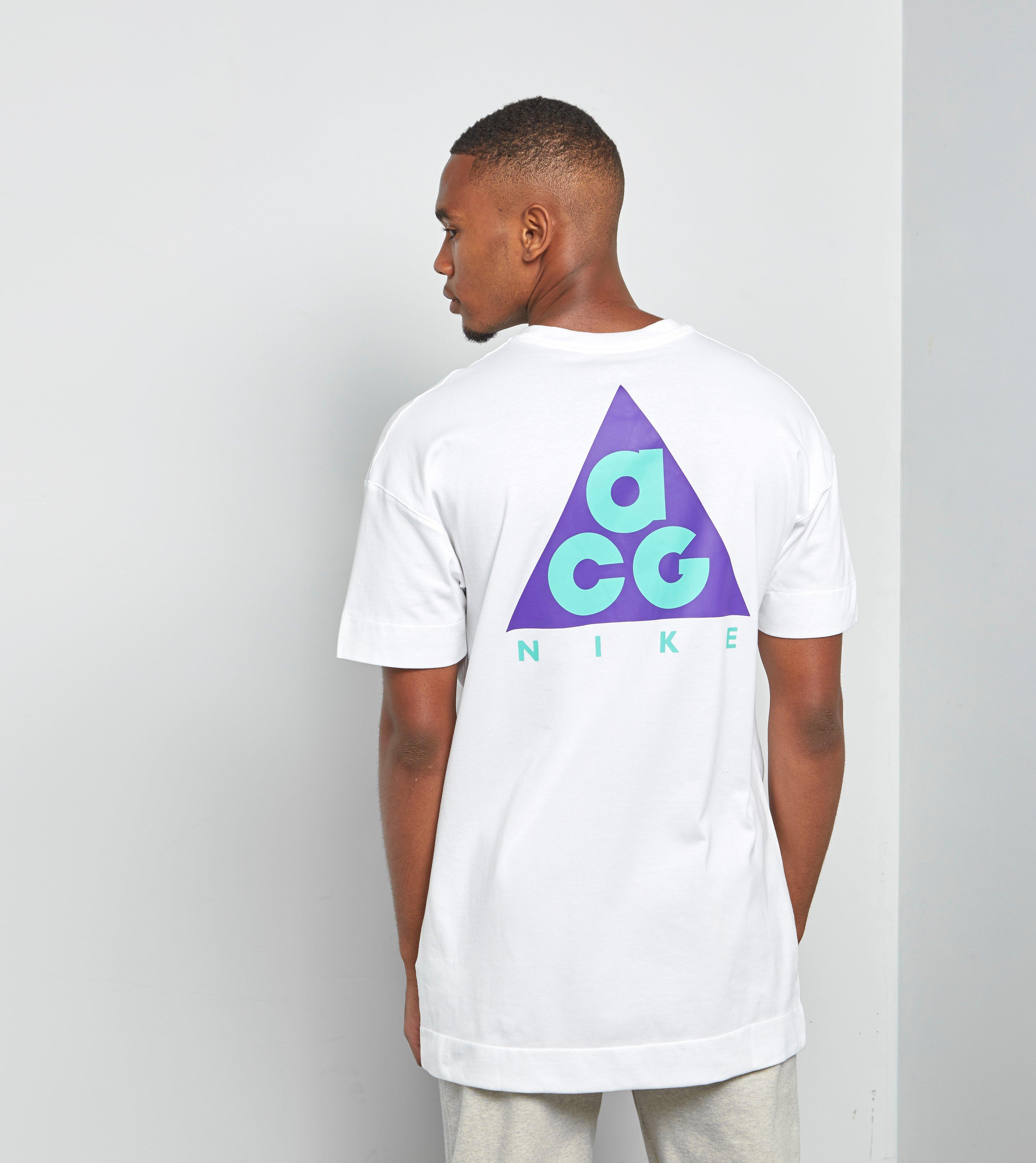 32a28d2e5 Nike Acg T-shirt Qs in White for Men - Lyst