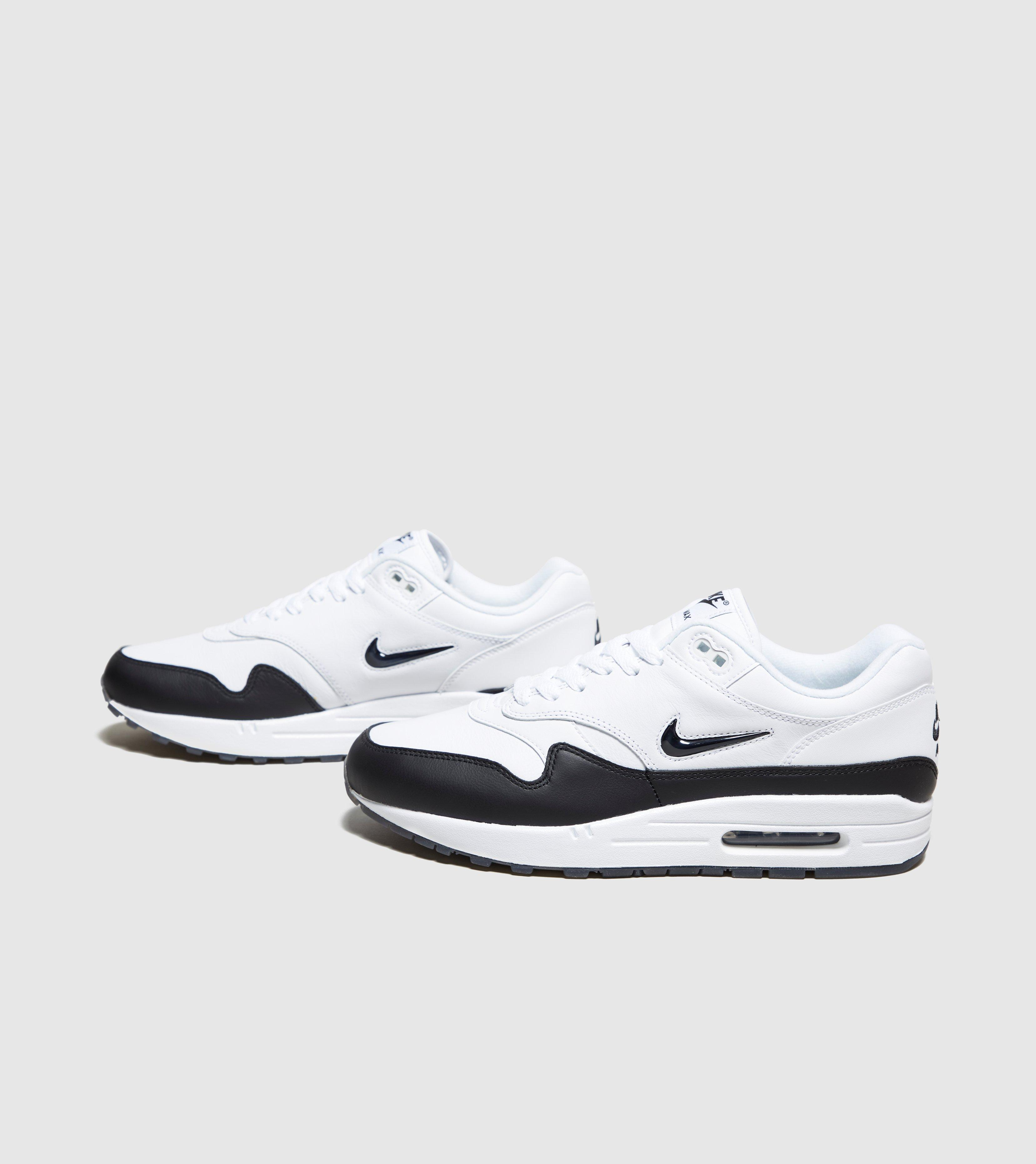lyst nike air max 1 jewel qs in white for men. Black Bedroom Furniture Sets. Home Design Ideas