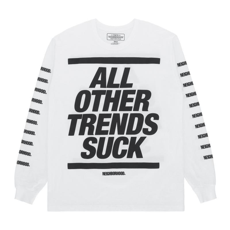 db2169b3 Neighborhood Suker Long Sleeves T-shirt for Men - Lyst