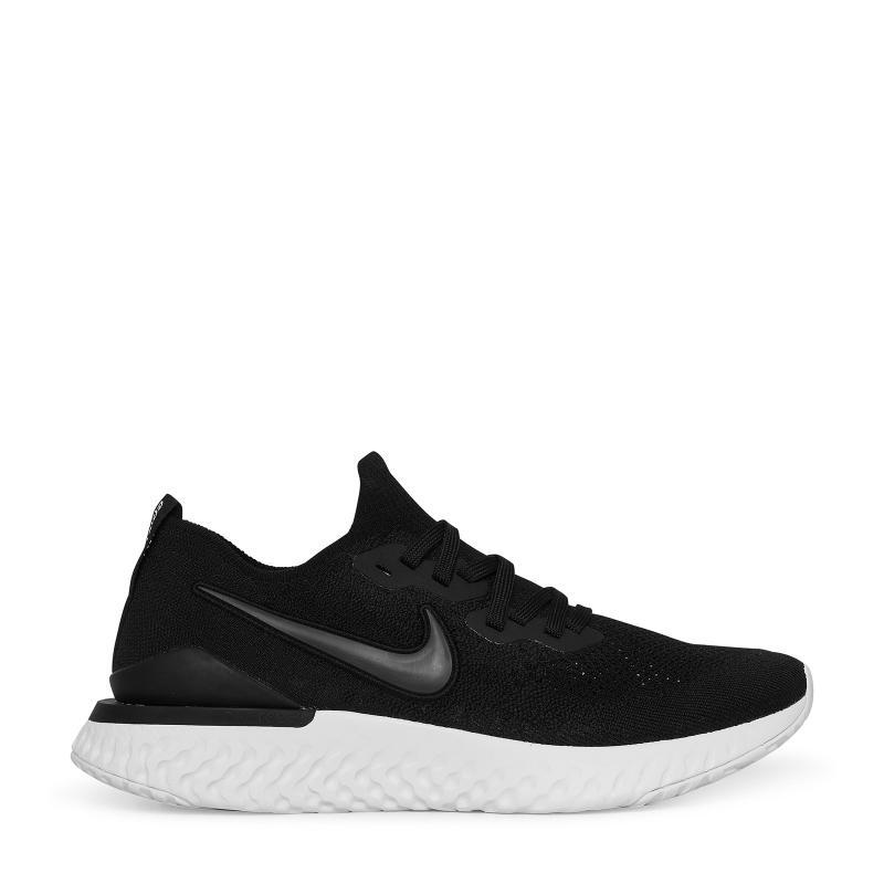 e20ca737b7b6 Nike Epic React Flyknit 2 Sneakers in Black for Men - Lyst