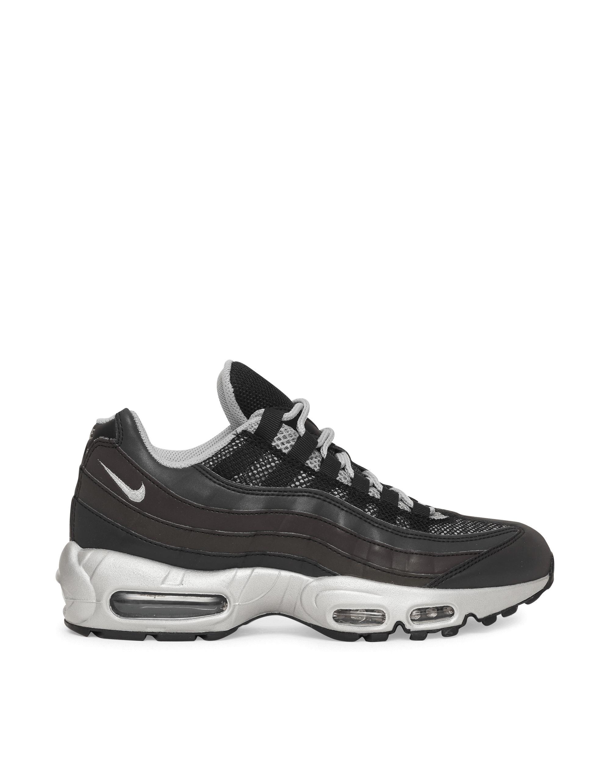 Nike Synthetic Air Max 95 Premium Sneakers in Black/Metallic ...