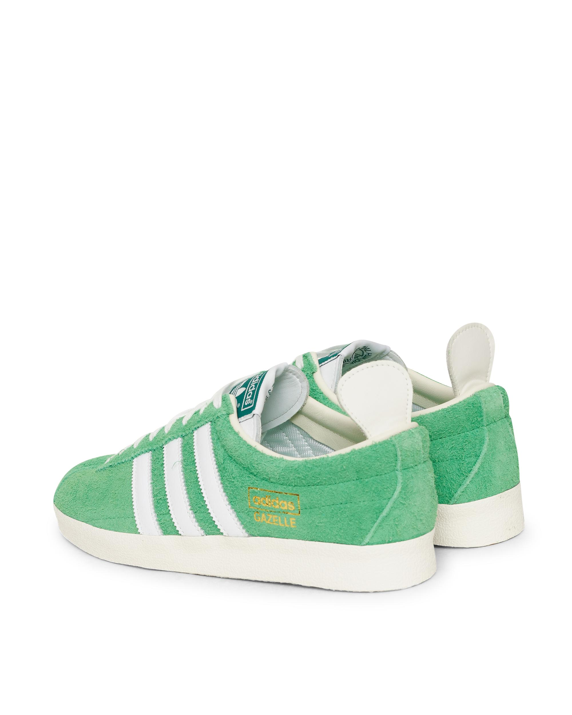 adidas Originals Lace Gazelle Vintage Trainers in Green for Men - Lyst