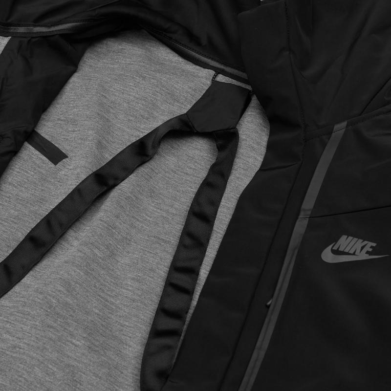 Nike Synthetic Tech Pack Hooded Jacket in Black for Men