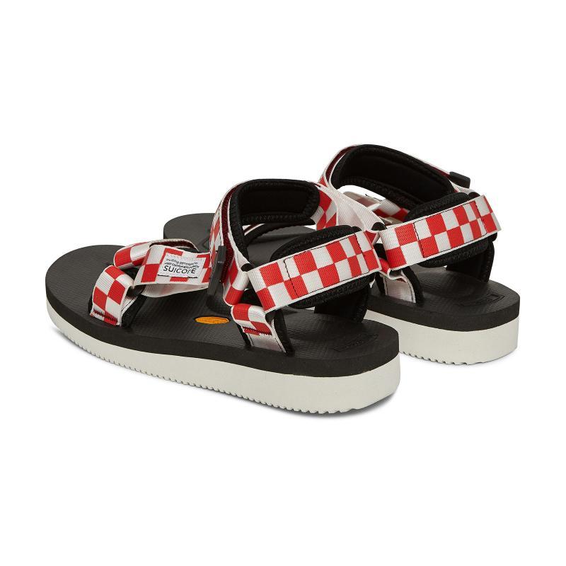 00b40ff21 Suicoke Multicolor Depa V-2 Checkerboard Sandals