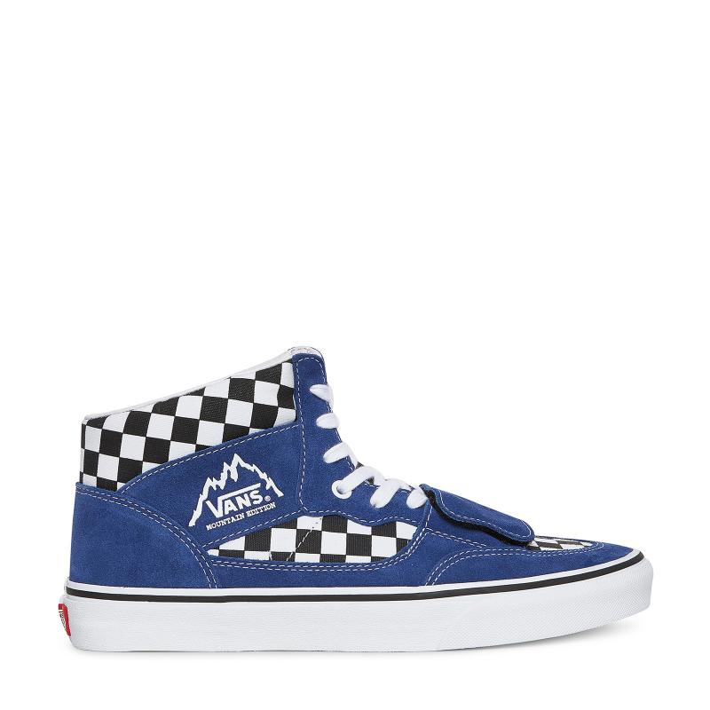 647801742b Lyst - Vans Checkerboard Mountain Edition Sneakers in Blue for Men ...