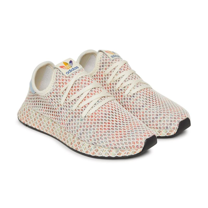 65ff685bef87f Adidas Originals - Multicolor Deerupt Pride Sneakers - Lyst. View fullscreen