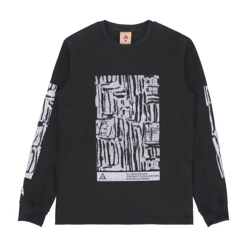 973ba672 Nike. Men's Black Waffle Long Sleeves T-shirt. $66 From Slam Jam Socialism