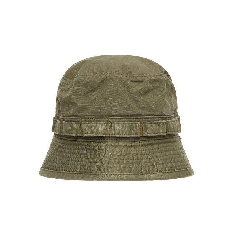 466c09eaa7a1 WTAPS Jungle Ripstop Cotton Hat in Green for Men - Lyst