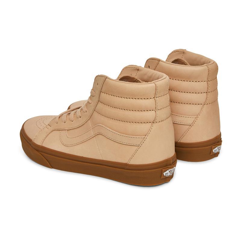 Vans Leather Sk8-hi Reissue Dx Tan
