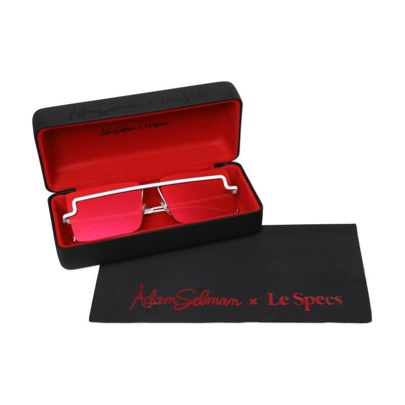 Le Specs The International Red Mirror