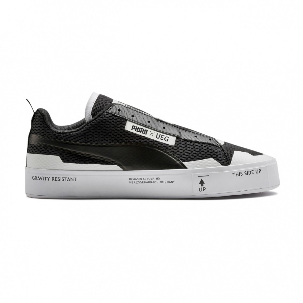 78e91e8fdb75 Lyst - PUMA  ueg X Court Play  Laceless Sneakers in Black for Men