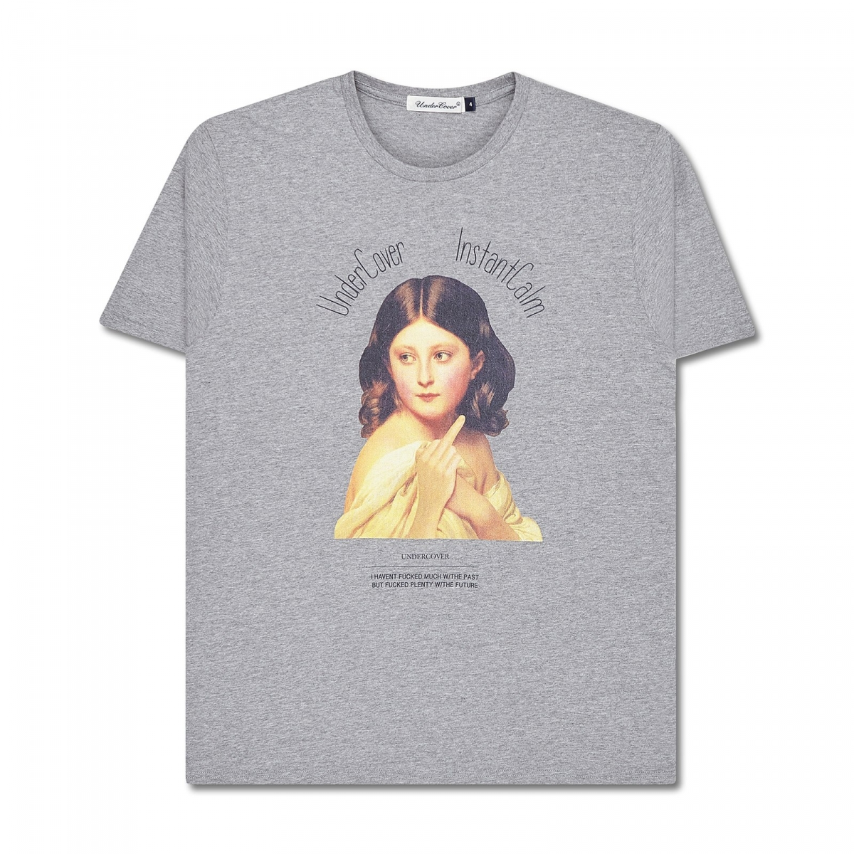 undercover lady t shirt in gray for men lyst. Black Bedroom Furniture Sets. Home Design Ideas