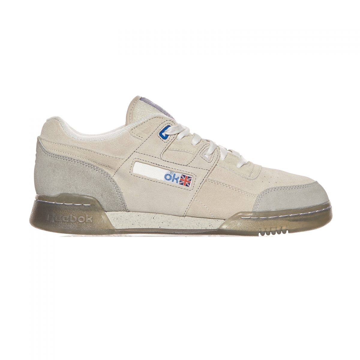 d5a6a94d99b Reebok Garbstore Workout Low Plus Sneakers In White For Men