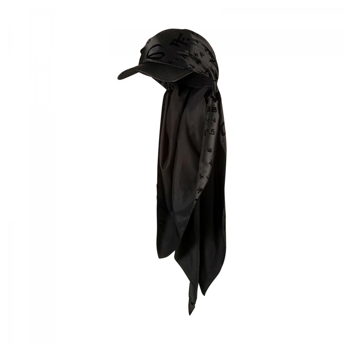 PUMA X Rihanna  fenty  Bandana Cap in Black - Lyst a52acacefa5