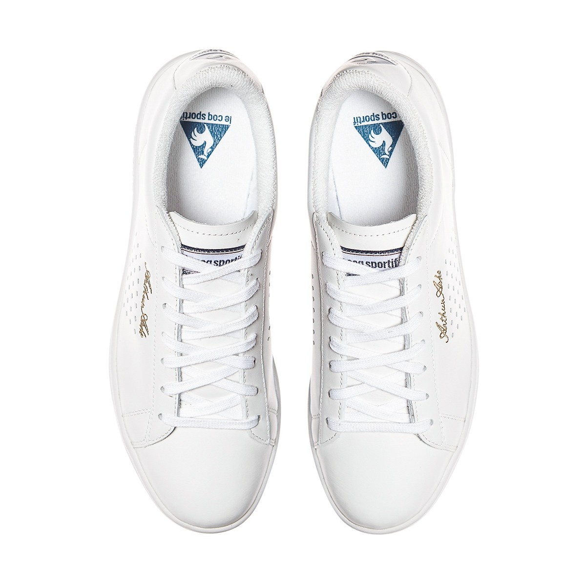Le coq sportif Arthur Ashe Sneakers in White for Men