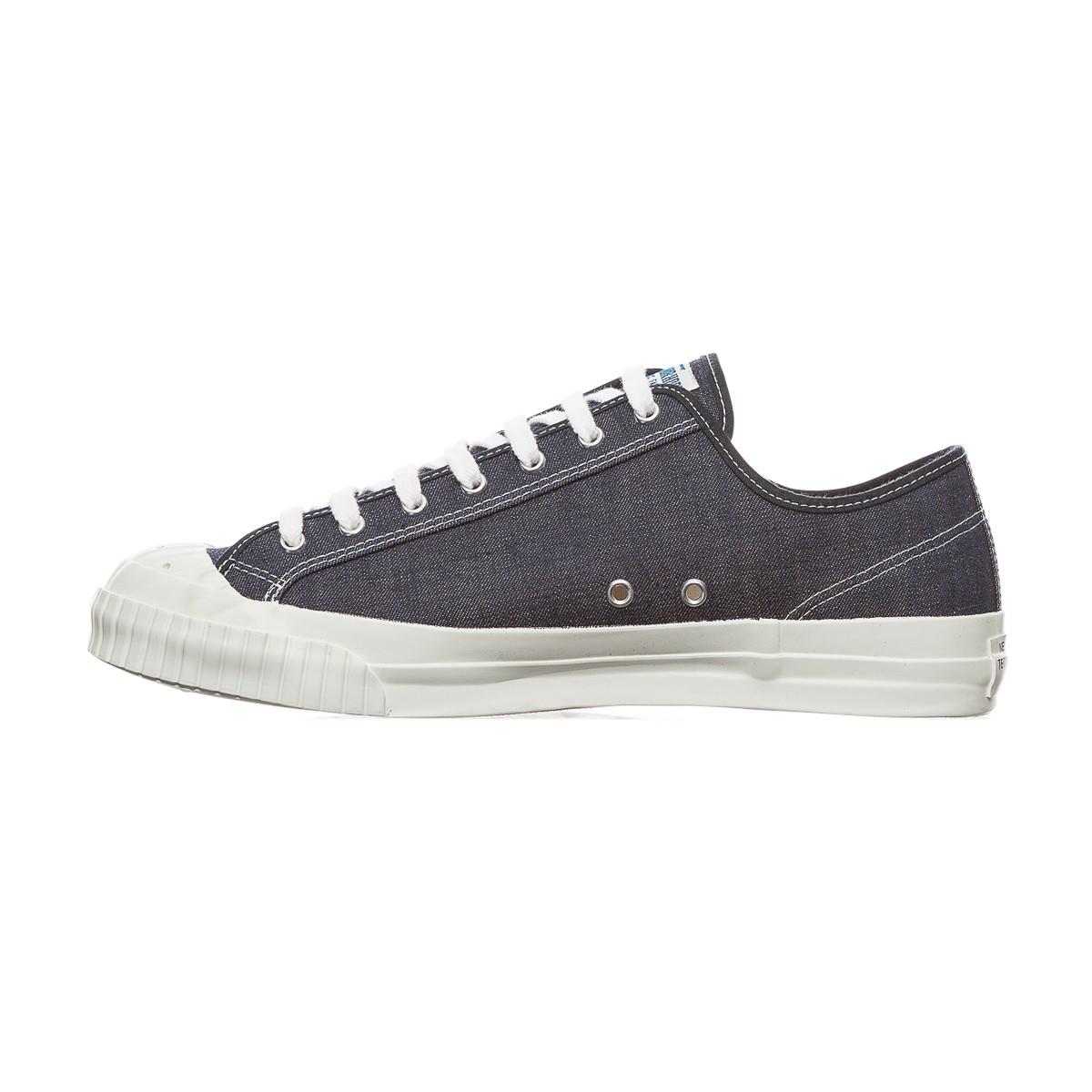 Neighborhood Denim Sneakers in Blue (Black)