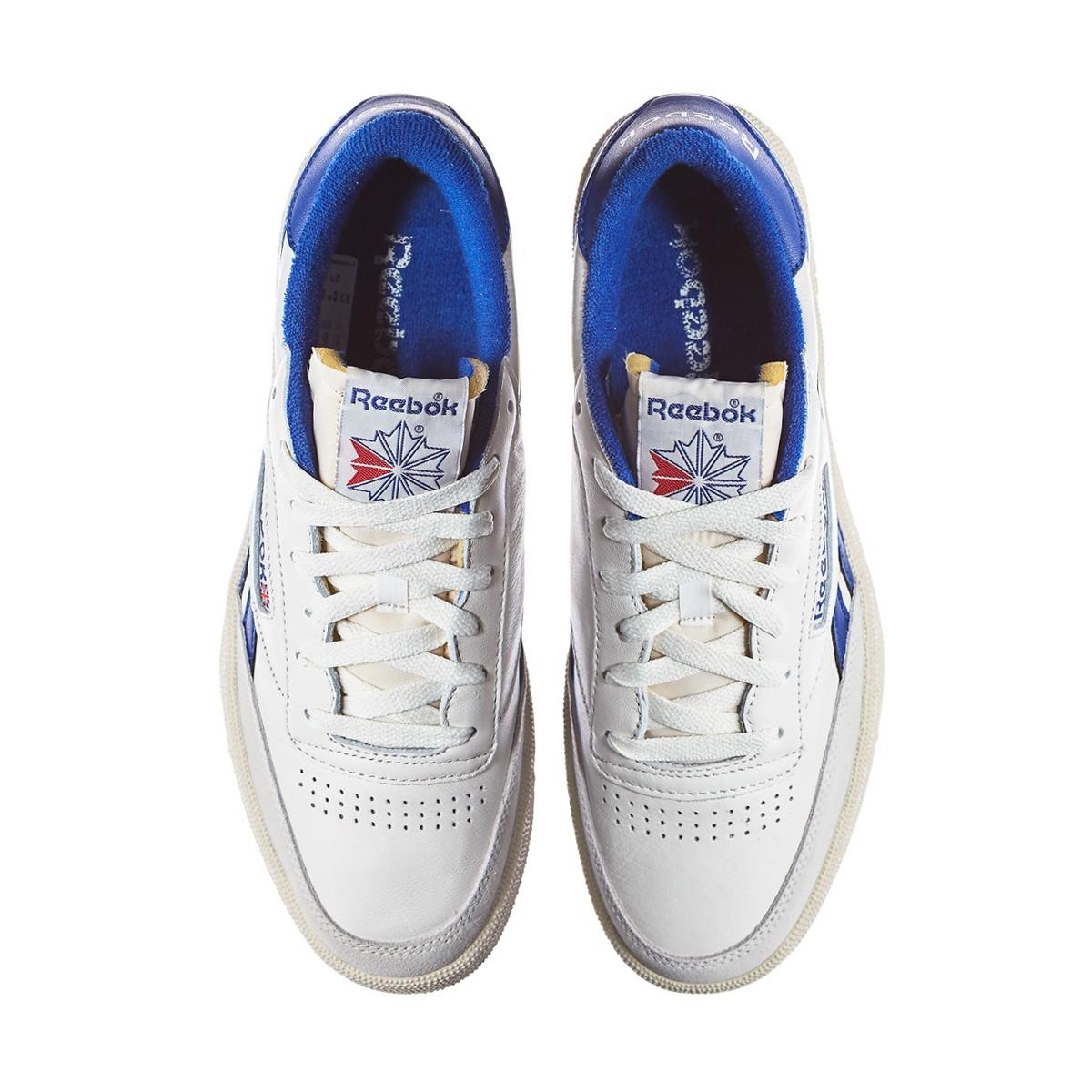 0f8c5b012cb Lyst - Reebok Revenge Plus Vintage Sneakers in Blue for Men