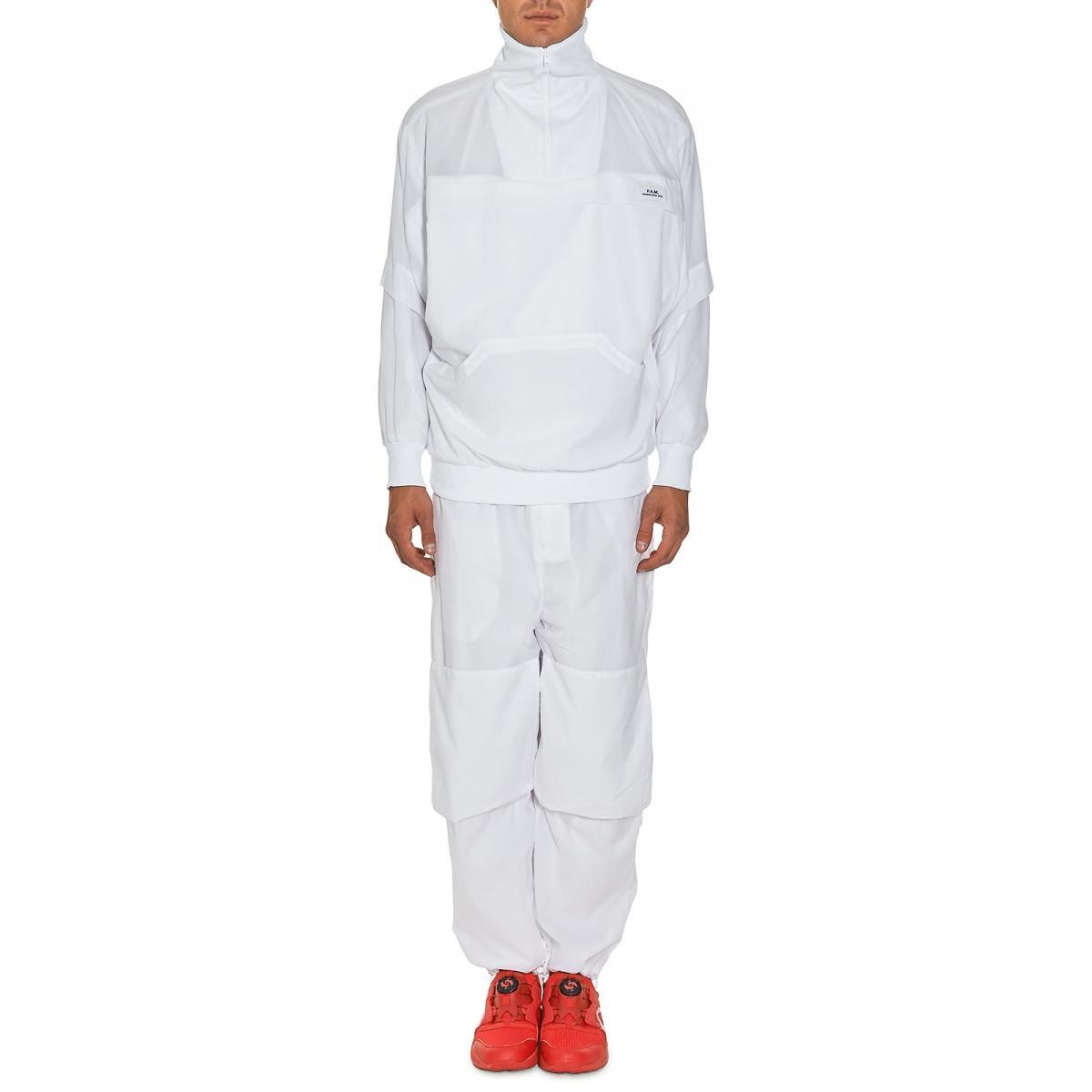 Pam Aktiv Plain Jacket in White for Men
