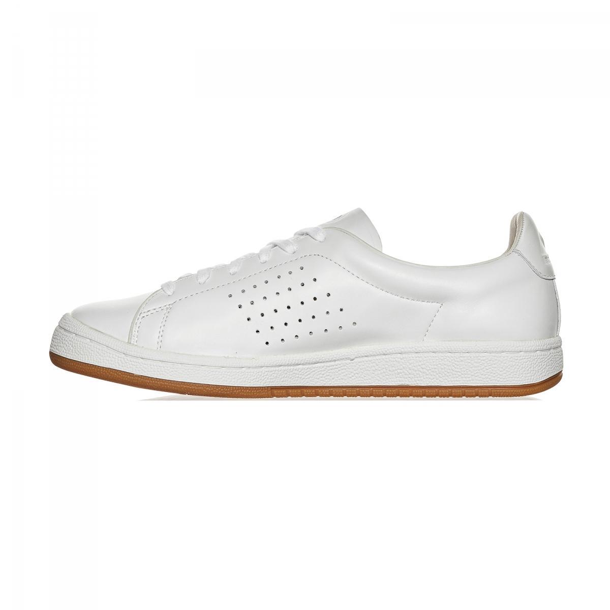 Le Coq Sportif Ashe Prestige Leather Aerotop Sneakers in White