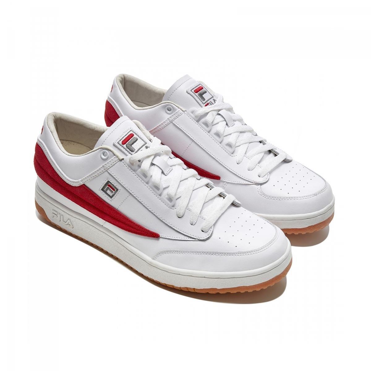 Gosha Rubchinskiy Fila T-1 Mid Sneakers in White
