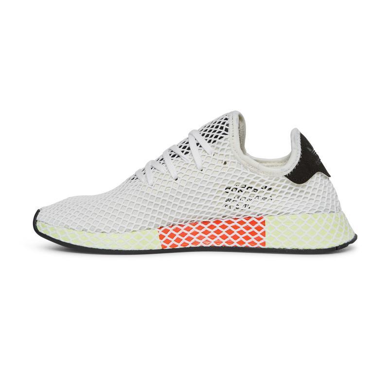 reputable site da711 47801 Adidas Originals - White Deerupt Runner Sneakers for Men - Lyst. View  fullscreen