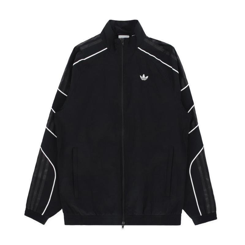 88836dce156e Lyst - adidas Originals Flamestrike Woven Track Top in Black for Men