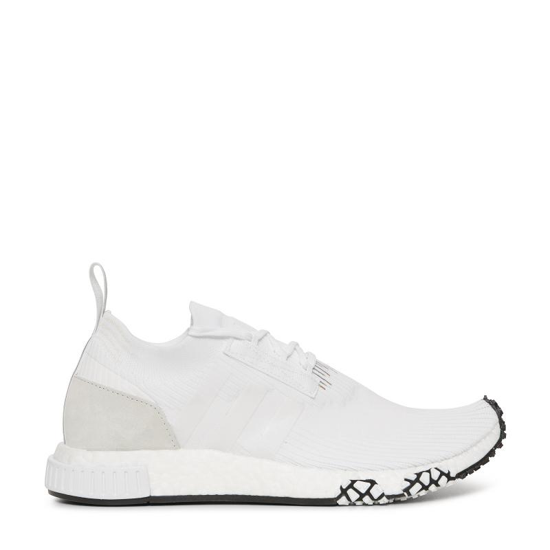 f8b675772e7 Lyst - Adidas Originals Nmd Racer Primeknit Sneakers in White for Men