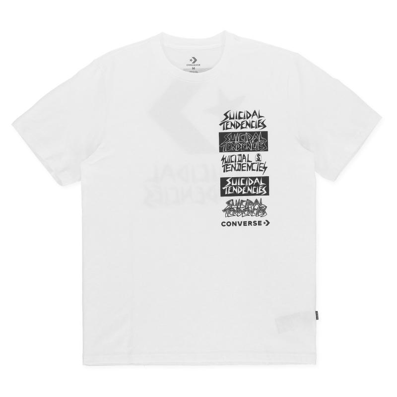 2902ca8a76bb37 Converse. Men s White T-shirt X Suicidal Tendencies.  36  27 From Slam Jam  Socialism