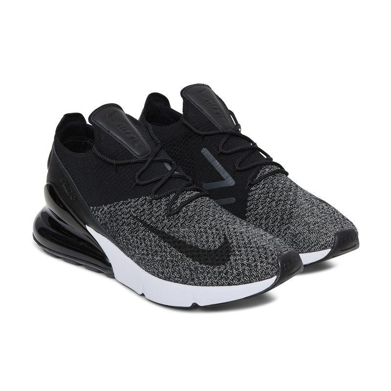Nike - Black Air Max 270 Flyknit 'oreo' Sneakers for Men - Lyst. View  Fullscreen