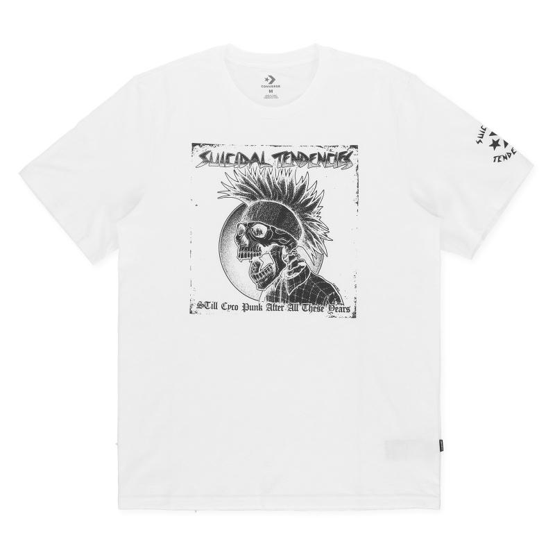65f05609d7bfe1 Converse. Men s Graphic T-shirt X Suicidal Tendencies Optical White. £32  From Slam Jam Socialism
