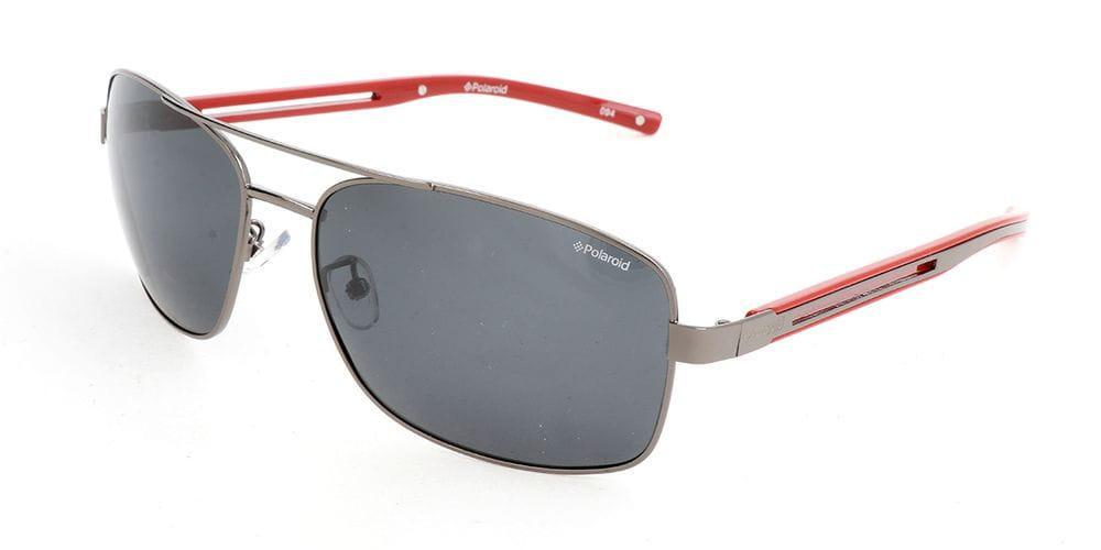 Polaroid Sunglasses PLD 3007//S QDR Y2 Ruthenium Red Grey Polarized