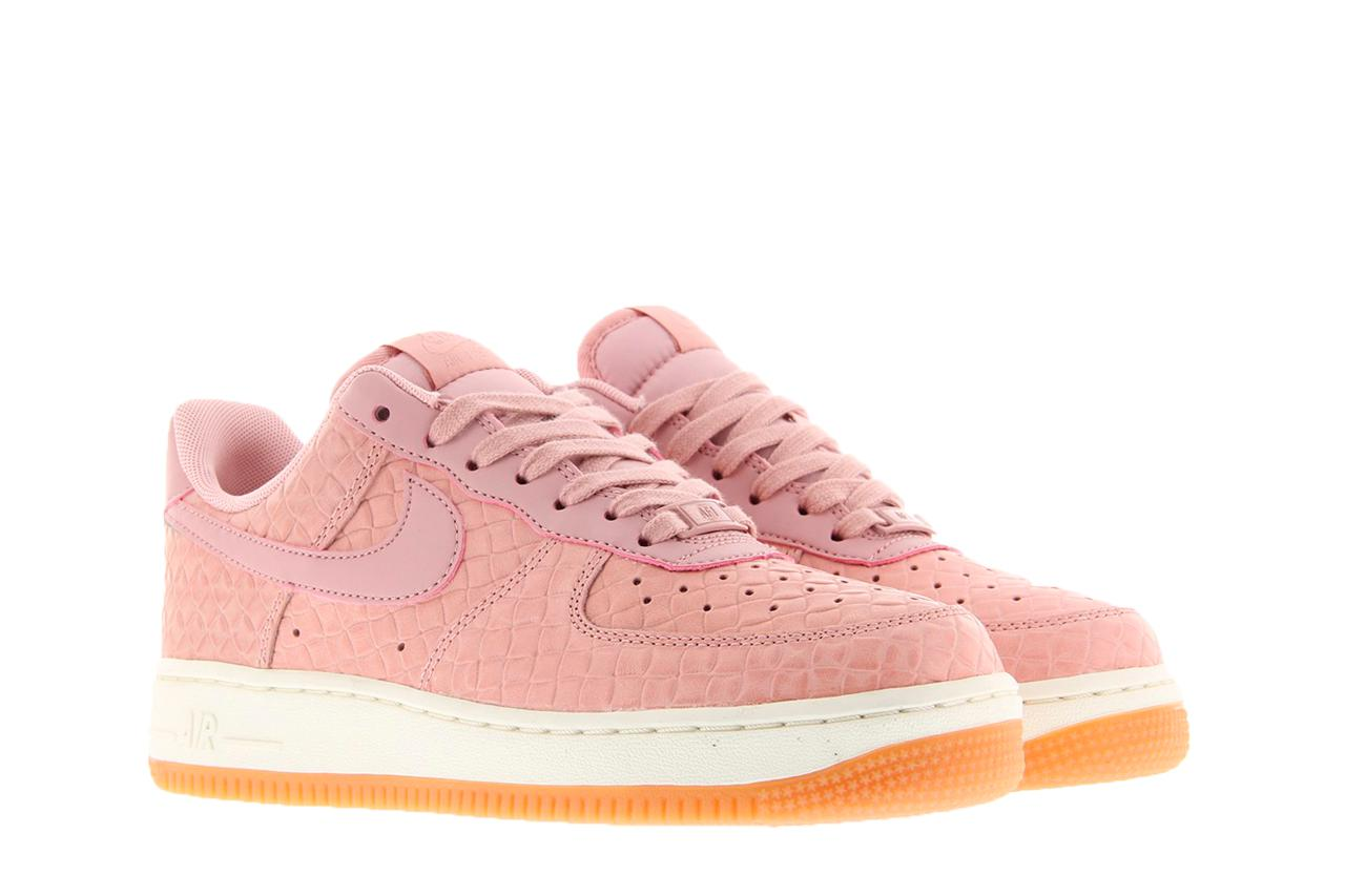Nike Air Force 1 Low Premium Velour Pink For Sale - The