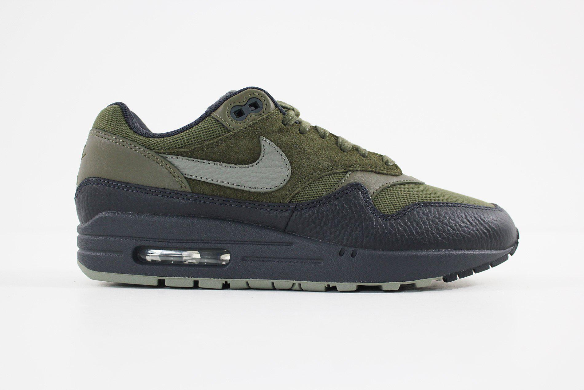55a6c7539e Lyst - Nike Men's Air Max 1 Premium Shoe 875844-201 in Green for Men