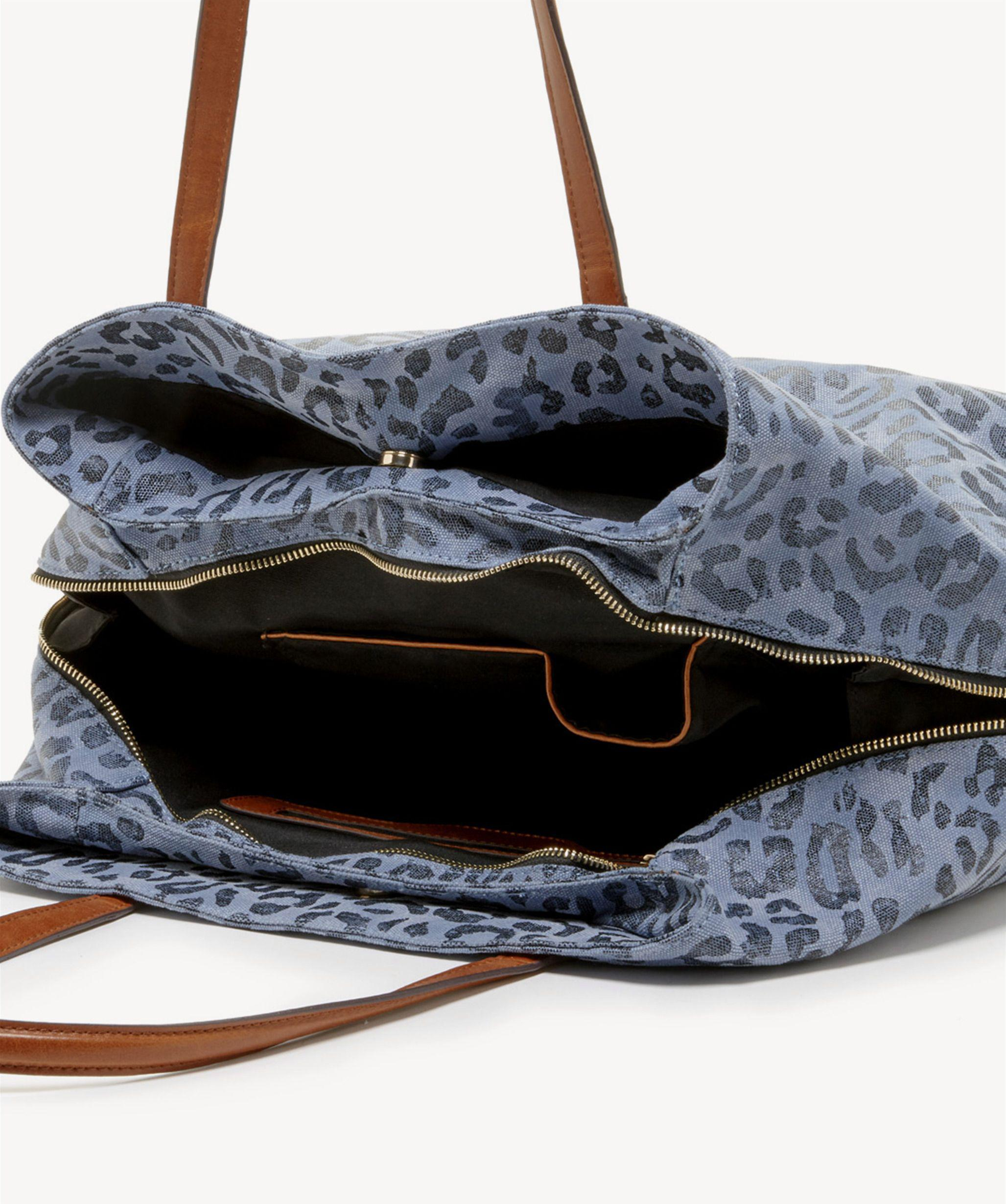 29885f927 Sole Society Millie Tote Fabric Tote in Blue - Lyst
