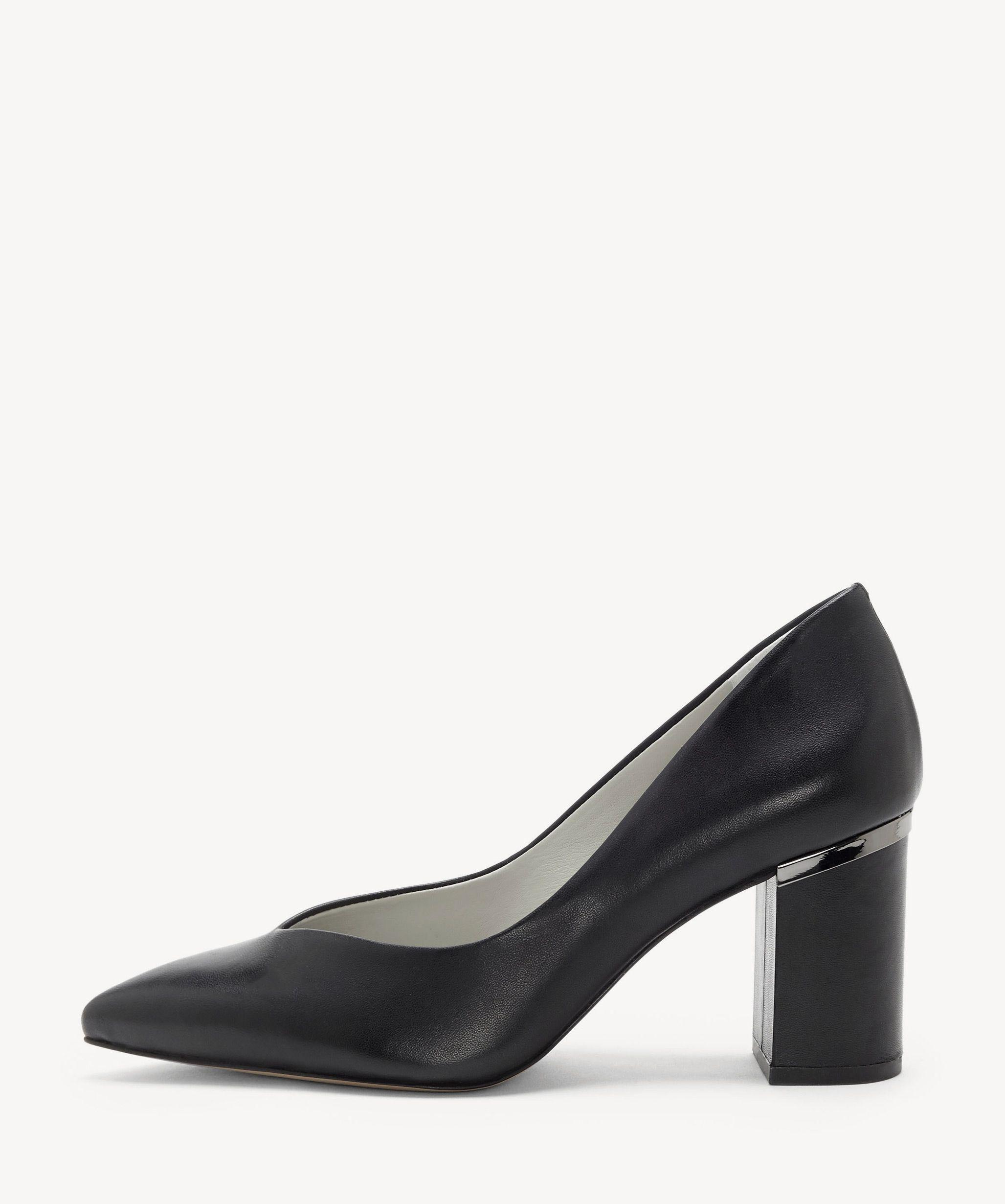 9274f36ff8f80 Lyst - 1.STATE Saffire Block Heel Pump in Black