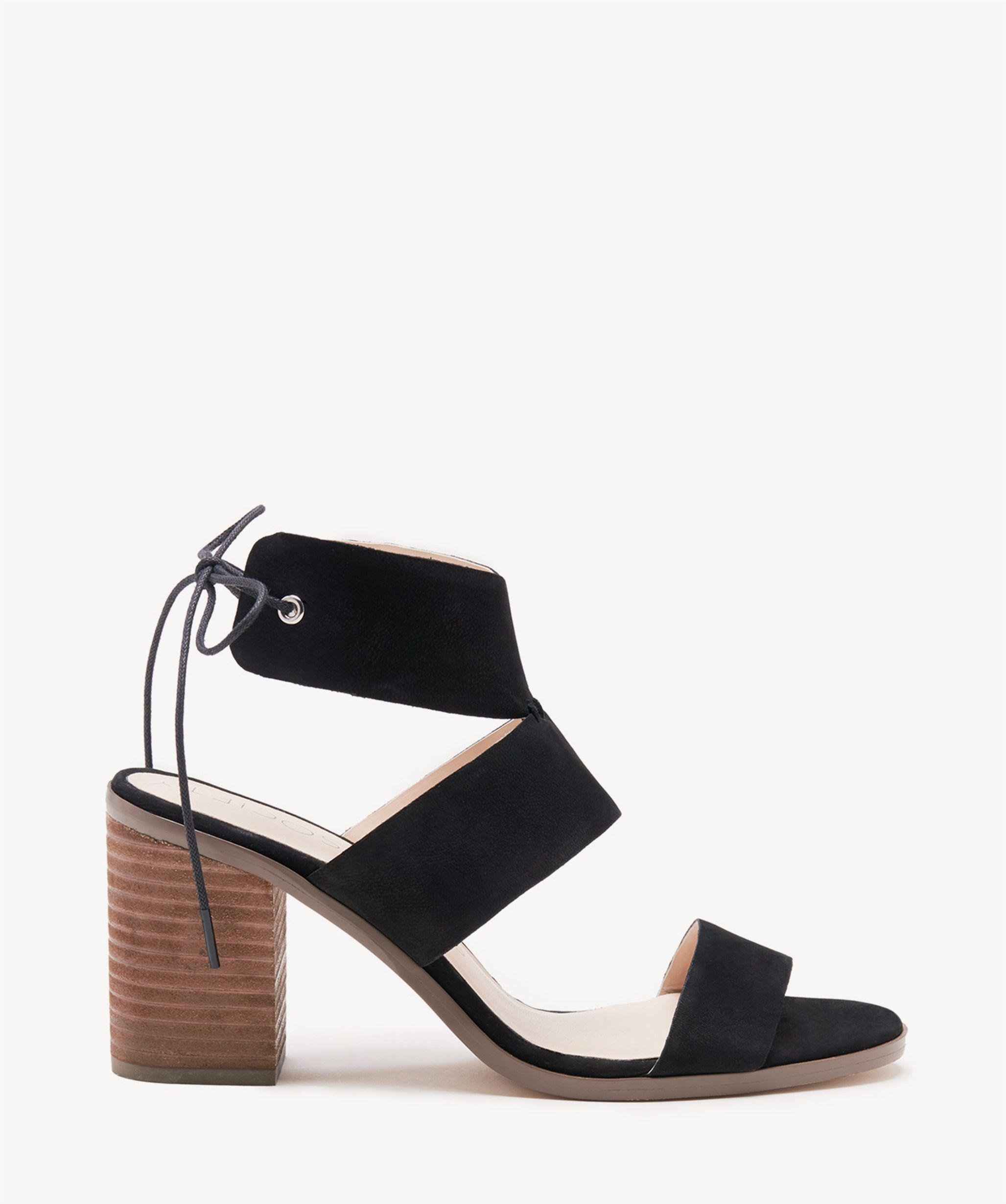 46de70579f3 Lyst - Sole Society Hayden Backless Heeled Sandal in Black