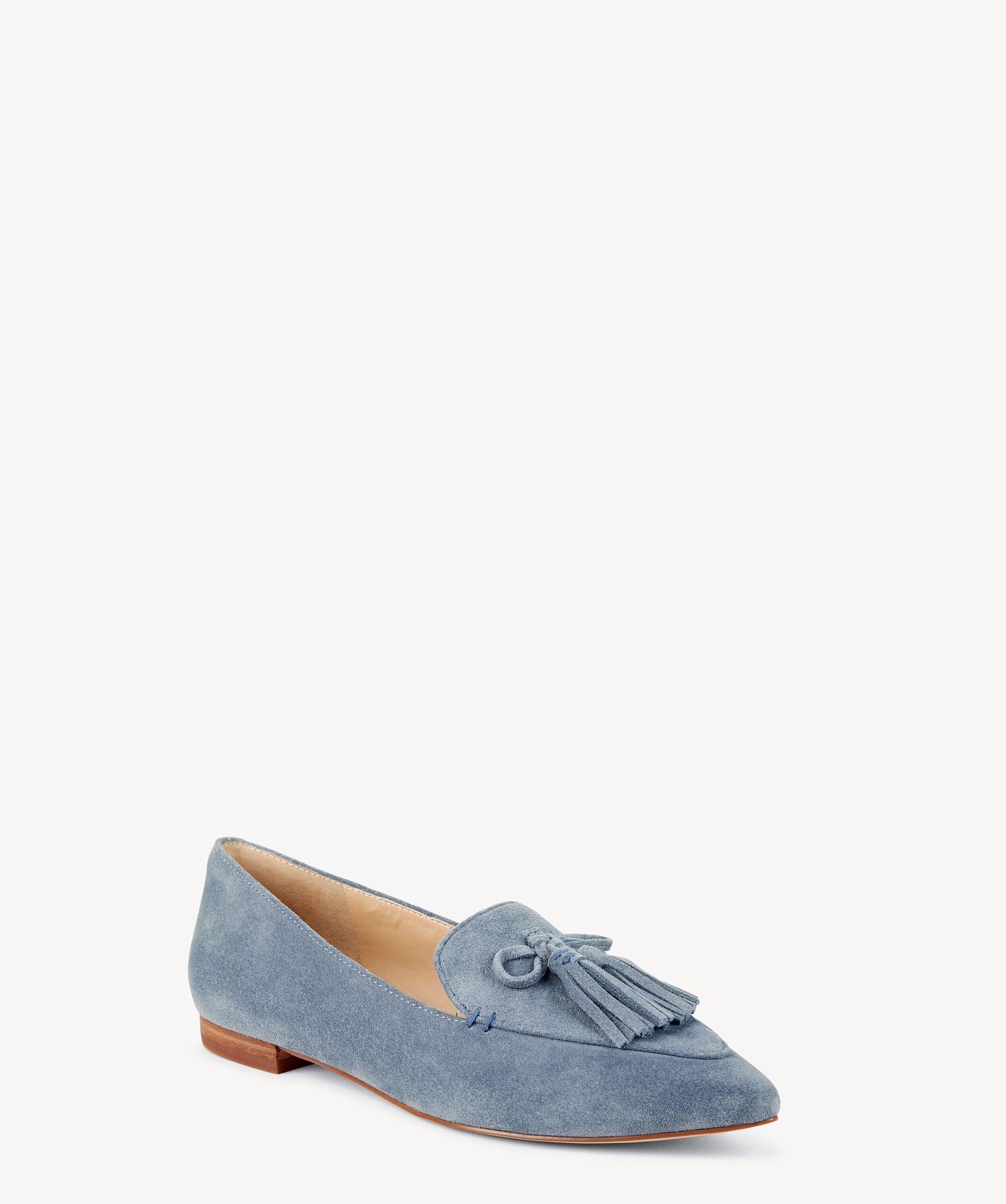 4f1c92b2941 Lyst - Sole Society Hadlee Tassel Loafer in Blue