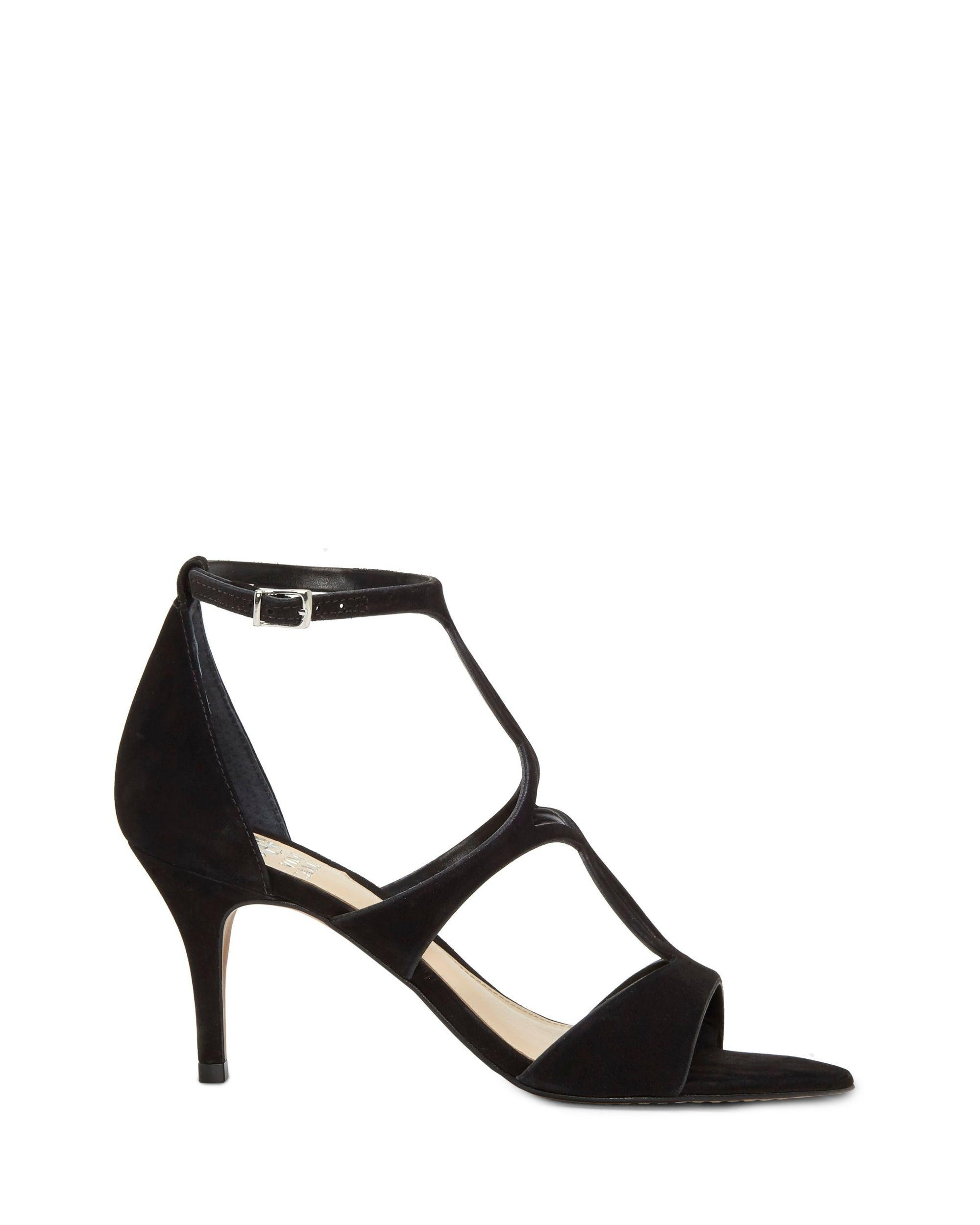 f5397597752 Lyst - Vince Camuto Payto Heeled Sandal in Black - Save 40%