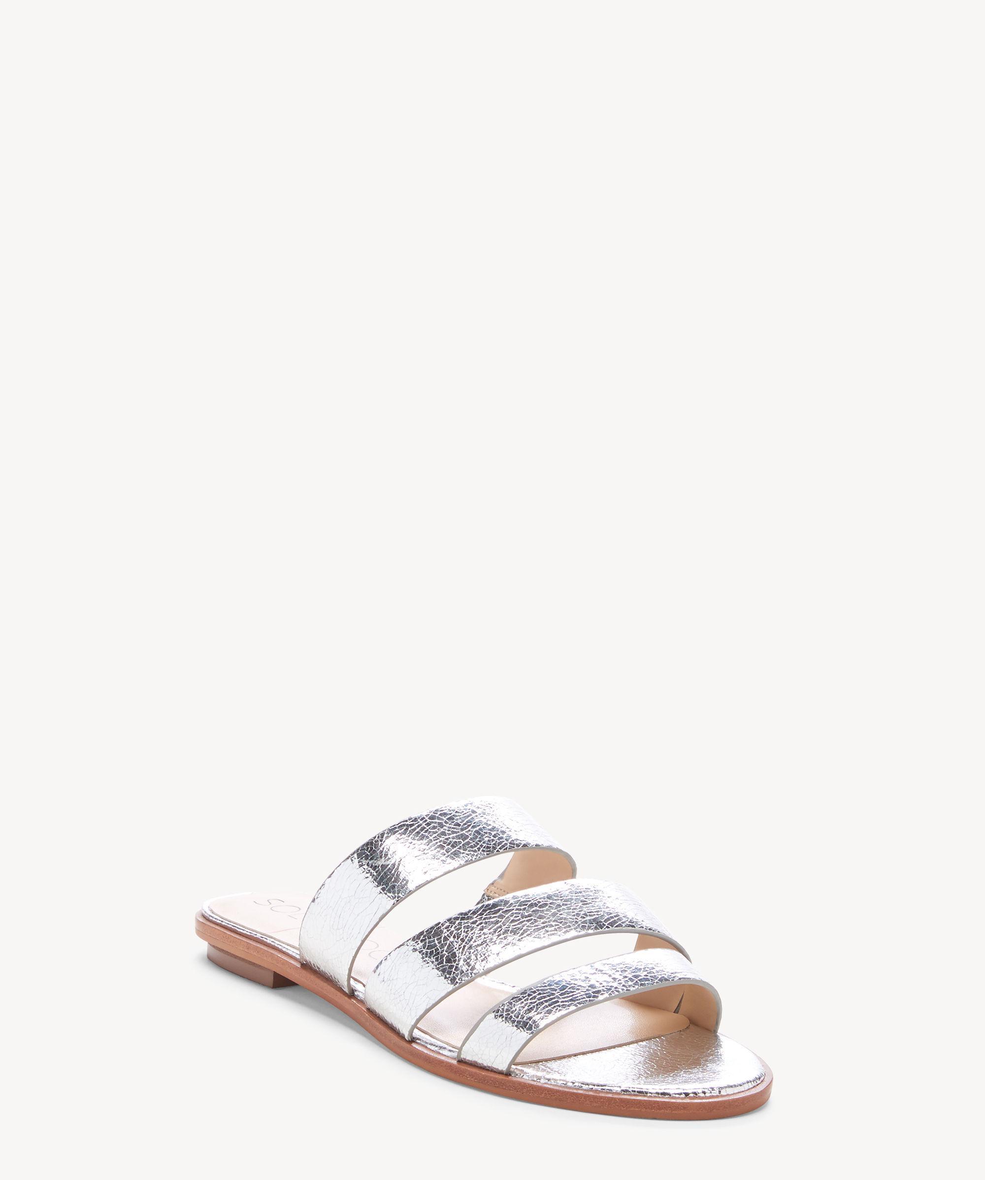 b40b695135ce Lyst - Sole Society Simonaa (gleaming Silver) Women s Sandals in Metallic -  Save 11%