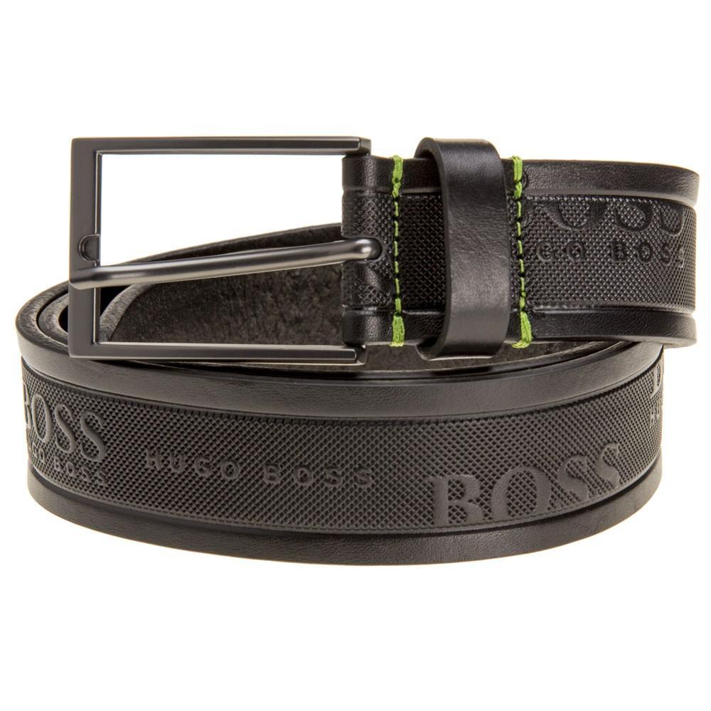 BOSS Tino Belt in Black for Men - Lyst 99d403eed7e