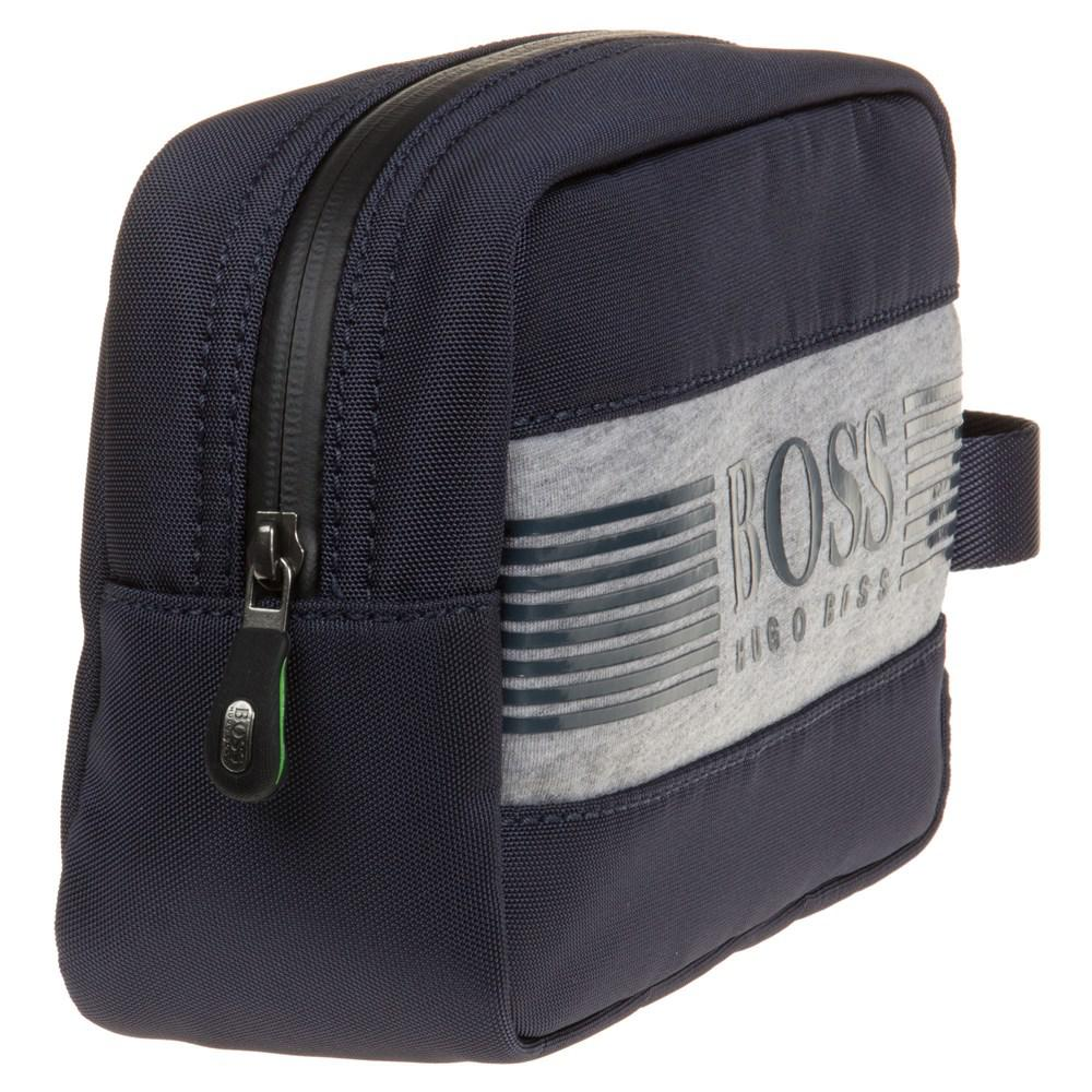 BOSS - Blue Pixel Wash Bag for Men - Lyst. View fullscreen 09d71188c6b8e