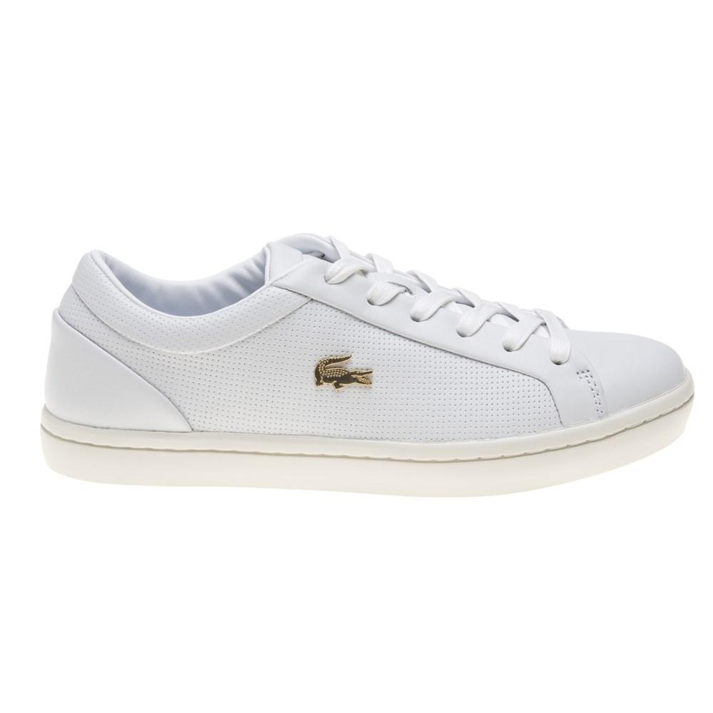 a83a7739c Lacoste - Multicolor Straightset Trainers - Lyst. View fullscreen