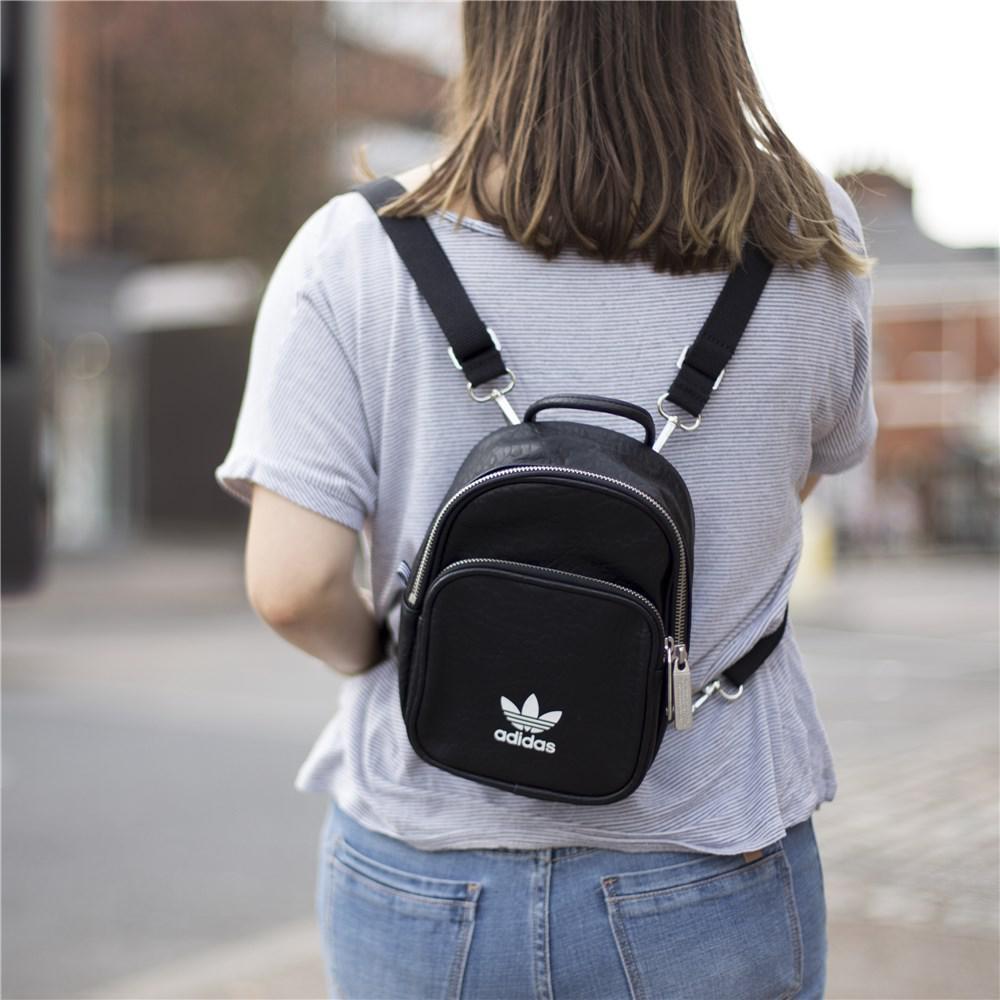 adidas Classic Mini Backpack in Black - Lyst b9a6183ab1