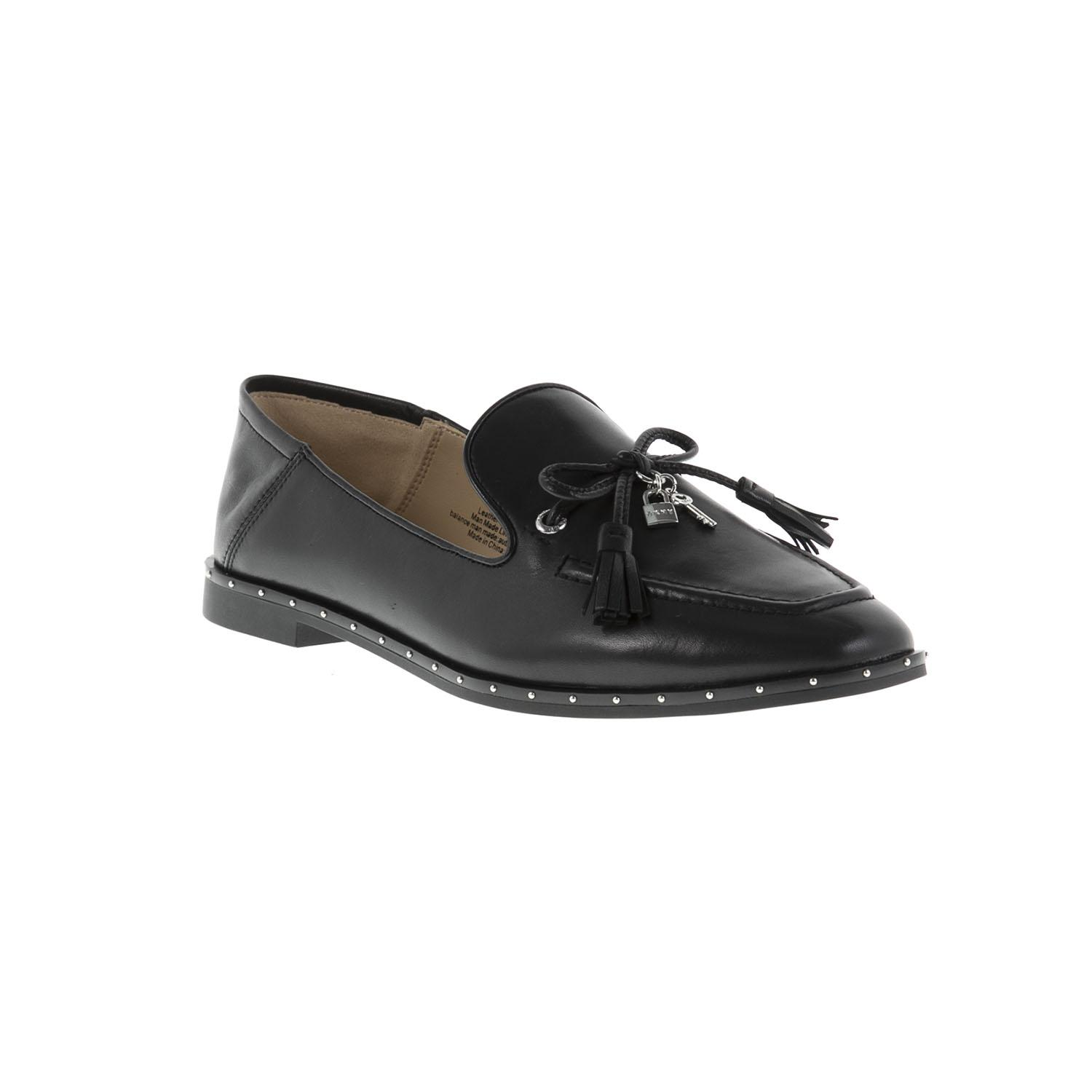 e6c196e466f DKNY Laura Mocassin Shoes in Black - Lyst