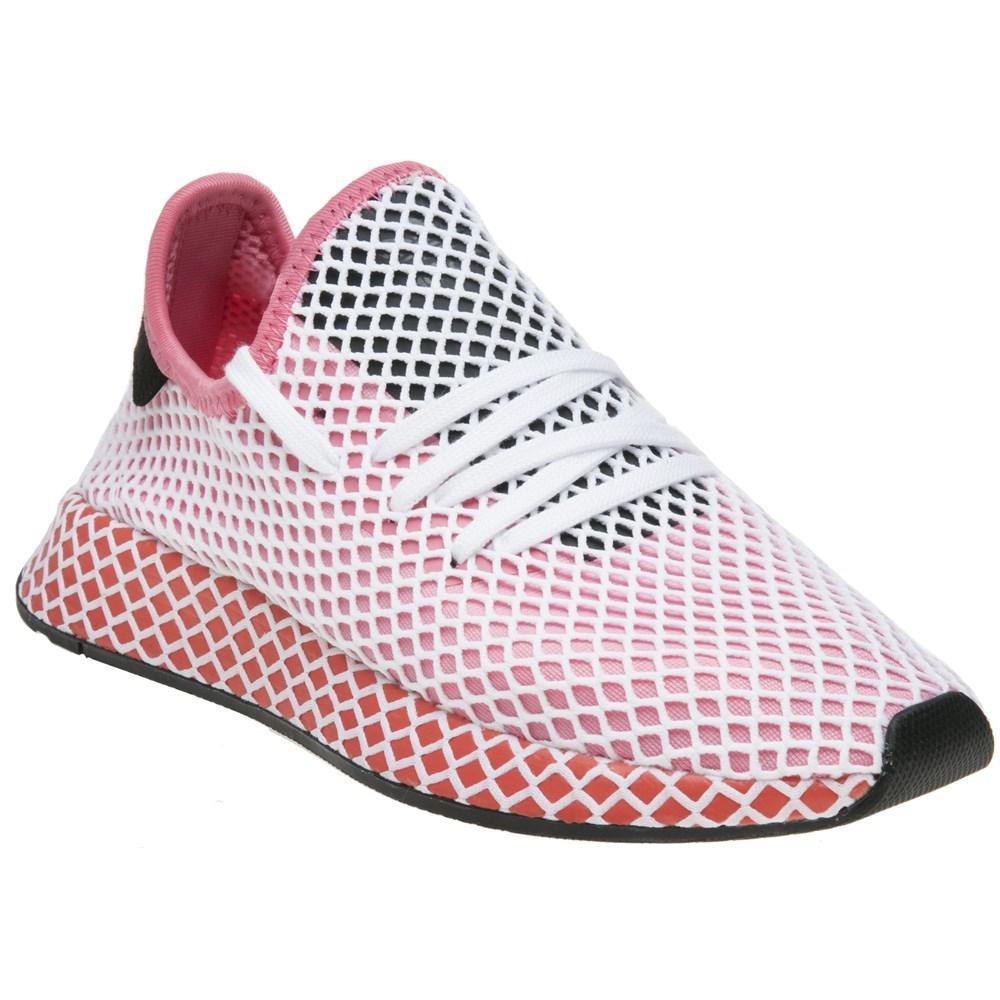Lyst adidas deerupt runner formatori in rosa